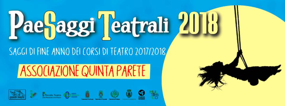 PaeSaggi Teatrali 2018 – Rassegna dei saggi di fine anno