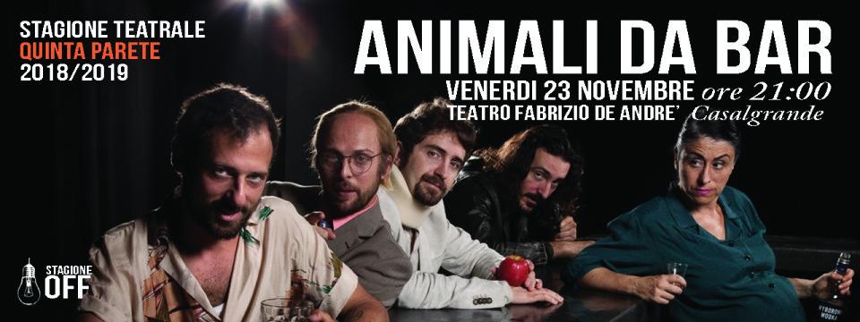 23 NOVEMBRE | CARROZZERIA ORFEO | ANIMALI DA BAR