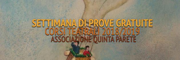 Settimana Prove Gratuite 2018/2019