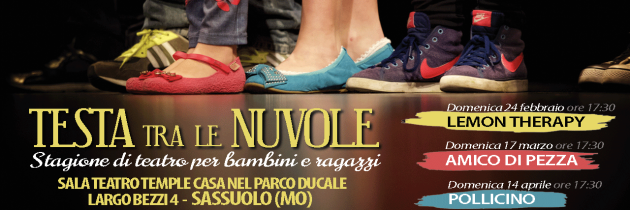 """Stagione teatro ragazzi & bambini """"TESTA fra le NUVOLE"""" 2019"""