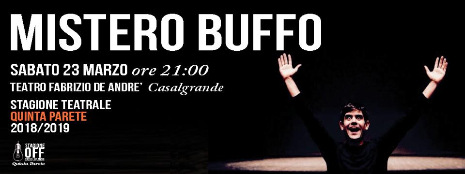 23 MARZO | MISTERO BUFFO | TEATRO DELLA CADUTA