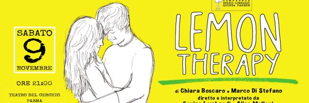 LEMON THERAPY – SABATO 9 NOVEMBRE – TEATRO DEL CERCHIO – PARMA