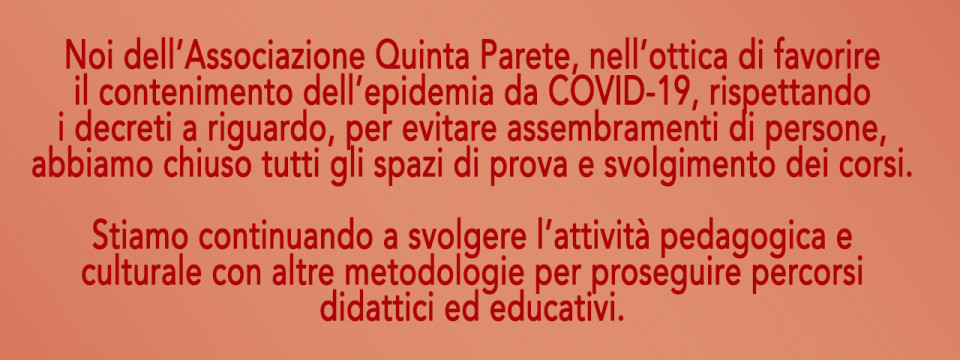 COMUNICATO AGLI ALLIEVI – COVID-19