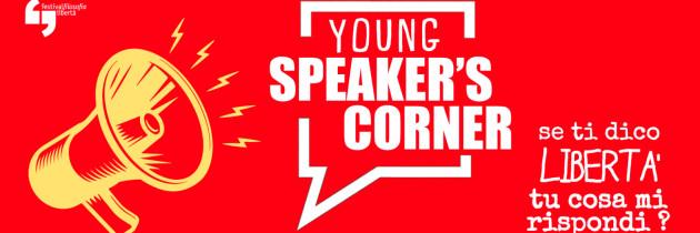 FESTIVAL DELLA FILOSOFIA – YOUNG SPEAKER'S CORNER